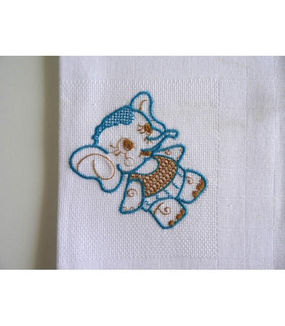 Fralda Branca (Dúzia)