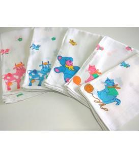 Fraldas Estampadas (Embalagem de 6 unidades)